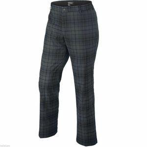 Nike Golf Men's Plaid Tartan Trouser Pants 34 x 32